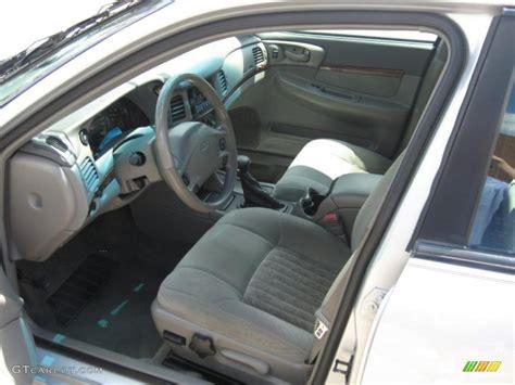2002 Impala Interior by 2002 Galaxy Silver Metallic Chevrolet Impala Ls 31743280