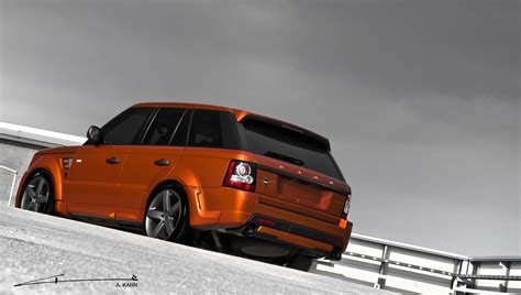 orange range rover sport 2012 kahn vesuvius orange range rover sport picture 67007