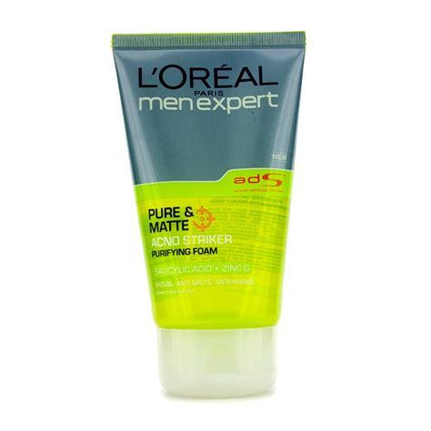 l oreal expert matte acno striker purifying foam fresh