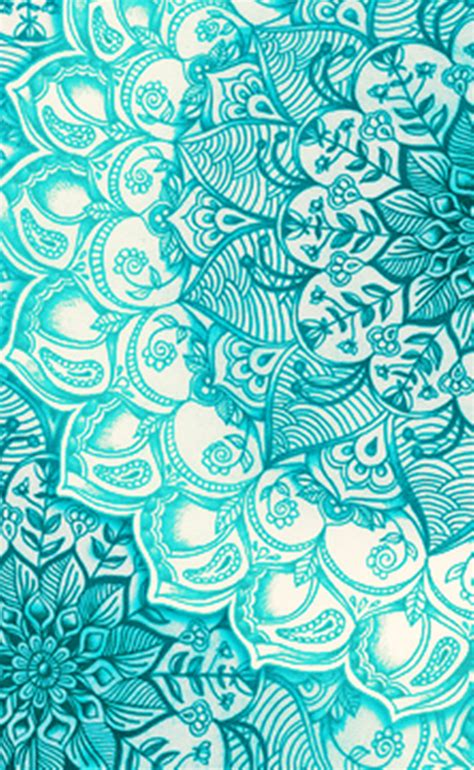 Teal Black Polka Iphone Dan Semua Hp teal henna wallpaper wallpapers elephant phone wallpaper hennas and wallpaper