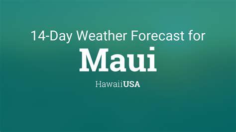 maui hawaii usa  day weather forecast