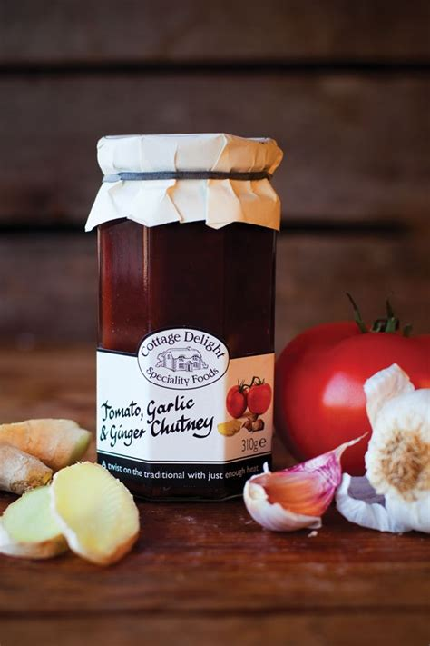 Cottage Delight by Cottage Delight Tomato Garlic And Chutney 310g