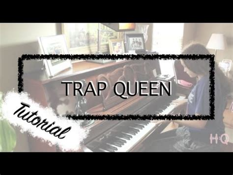 fetty wap tutorial fetty wap trap queen piano tutorial by christine youtube