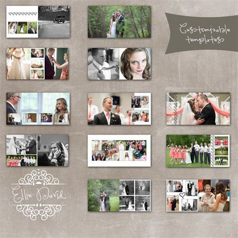 photo album layout photoshop 10x10 wedding album photoshop template designed for whcc