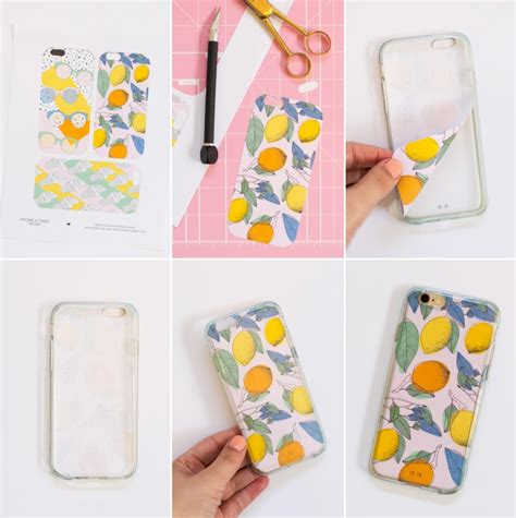 How To Make Phone Cases Out Of Paper - diy printable smart phone designs 187 lovely indeed