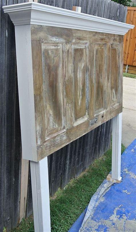panel door headboard 25 best ideas about old door headboards on pinterest