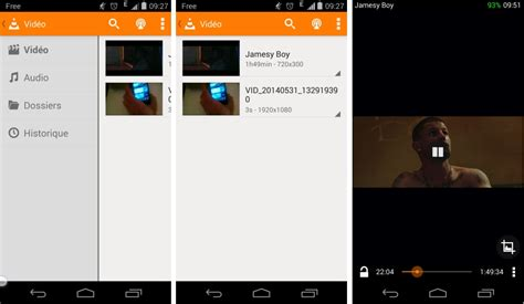 vlc for android beta v0 9 0 6 passe au flat sur android