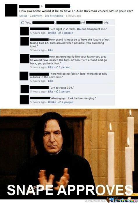Professor Snape Meme - severus snape by friendzoned meme center