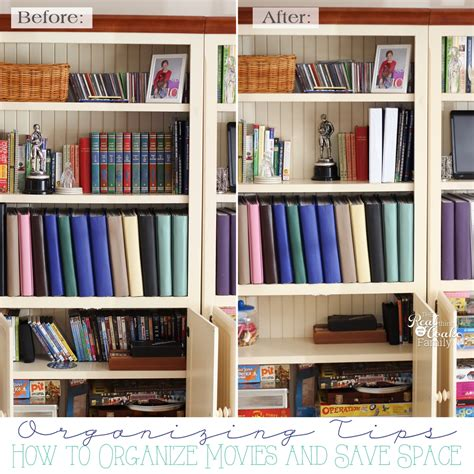 organized spaces organizing tips how to organize your movies