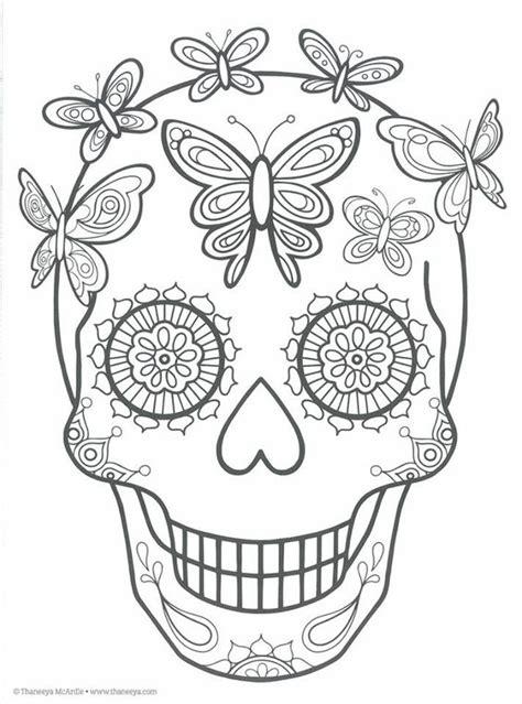 imagenes de calaveras y catrinas para colorear imagenes catrinas calaveras mexicanas colorear 17 catrinas10