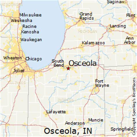 Osceola Property Records Osceola Indiana Map Indiana Map