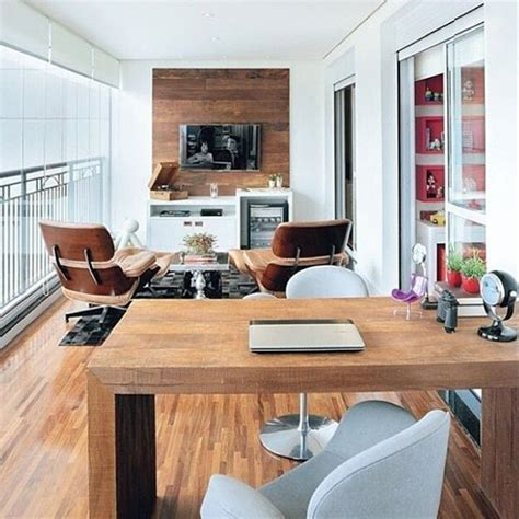modern home office modern home office in balcony