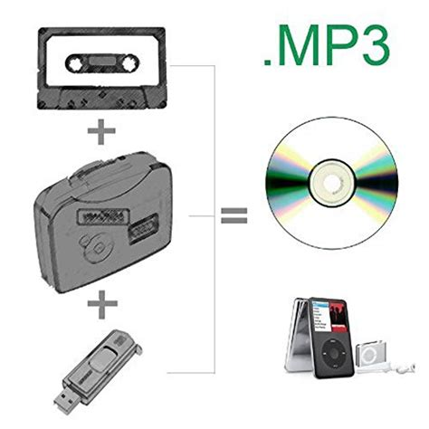 drive mp3 mostop tm portable handheld cassette tape to mp3 through