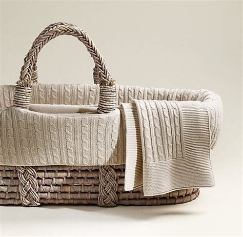 moses basket coverlet cable knit moses basket bedding ash basket set