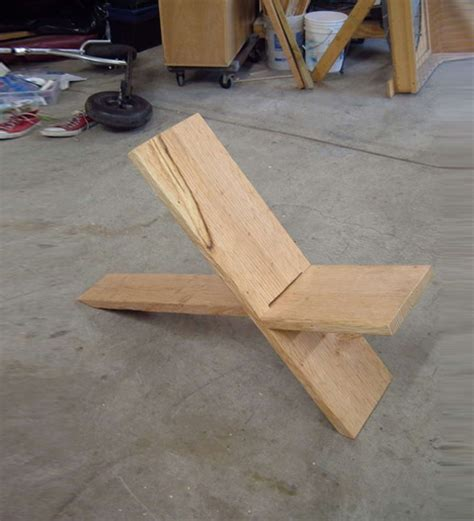 boards  seat simple diy  plank chair construction