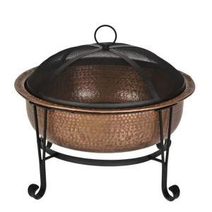 Cobraco Vintage Copper Fire Pit Ftcopvint C The Home Depot Home Depot Firepits