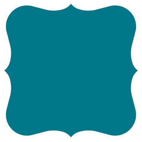 frame clipart square clipart teal pencil and in color square clipart teal