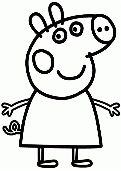 colouring pictures of peppa pig and george peppa pig coloring pages and sheets