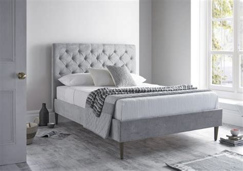 upholstered bed frames king size bed frames great quality 5 large beds from