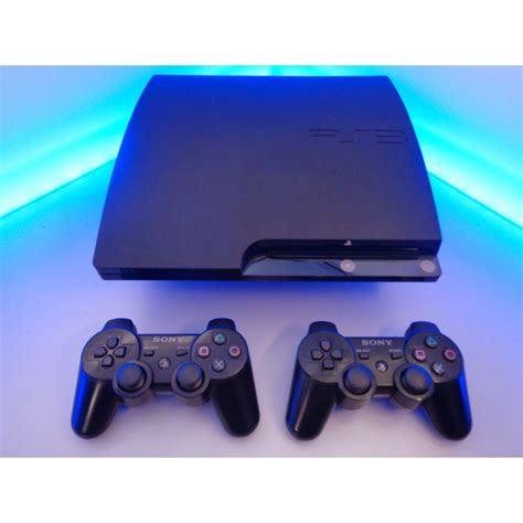 Playstation 3 Slim Black playstation 3 slim 120 gb pal black xq gaming
