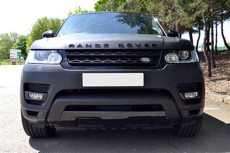 land rover range rover sport matte black range rover sport matte black wrap reforma uk