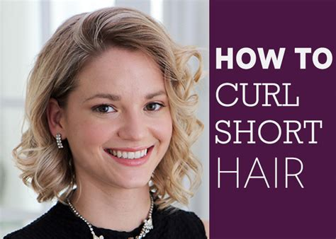 how to curl very short hair how to curl short hair