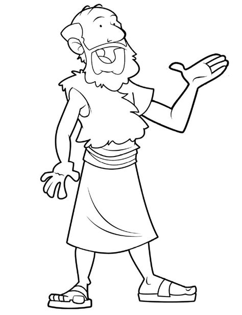 free bible coloring pages elijah bible character 3 ss kc vbs coloring pages
