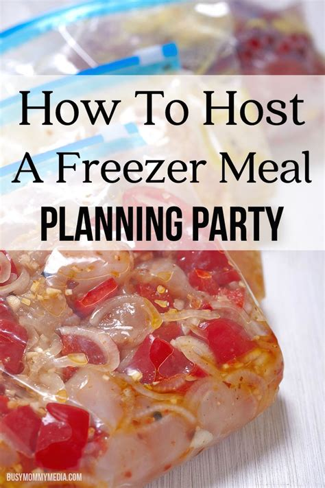 how to host a great dinner how to host a freezer meal planning this is a