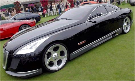 maybach exelero mercedes catalog with
