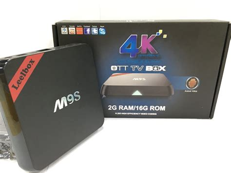 what is an android box buy leelbox m9s android tv box 2g 16g 2 4g 5g wifi smart 4 4 amlogic s812 4k kodi 15 2 better