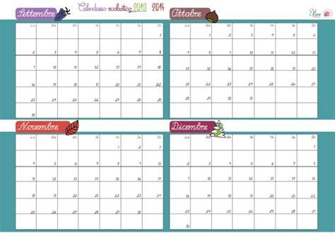Calendario Scolastico Calendario Scolastico 2013 2014 Da Stare Mamma Felice