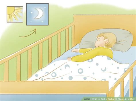 Getting Baby To Sleep In Crib After Co Sleeping 4 Ways To Get A Baby To Sleep In A Crib Wikihow