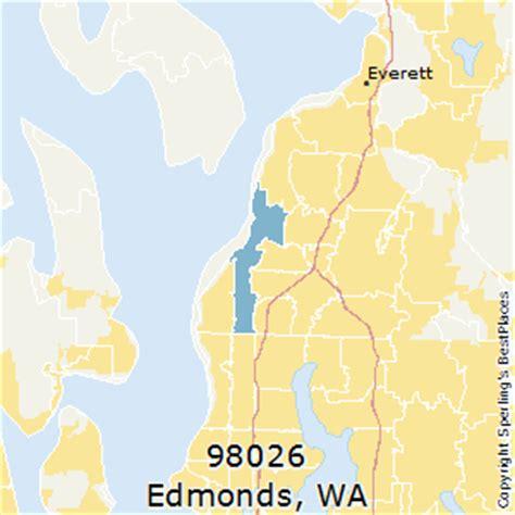 zip code map everett wa best places to live in edmonds zip 98026 washington