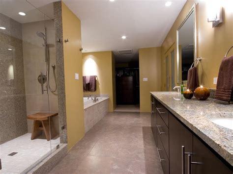 Modern Master Bathroom Colors Contemporary Bathroom Photos Hgtv