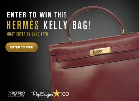 Win This Bag by Win An Hermes Bag Popsugar Fashion