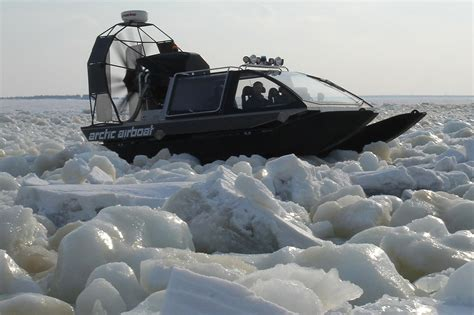 fan boat on ice best snow vehicles 9 machines that make traveling easy