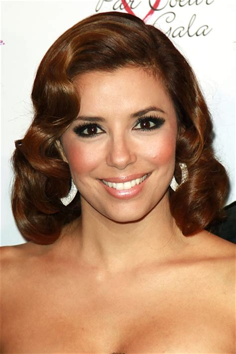old holloywood glam hairstyles eva longoria