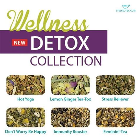 How To Detox From Spice At Home by Steeped Tea Detox Collection Tea Korte