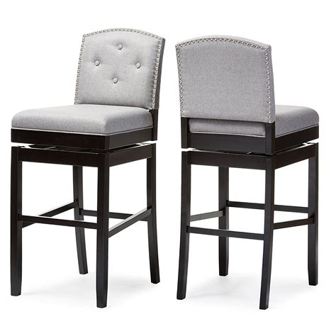 Teak Stools Outdoor by Furniture Outdoor Swivel Bar Stools With Backs Teak Rialto Teak With White Ceramic