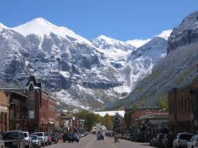 Colorado kickoff the holidays in telluride colorado with the 2012 ski and