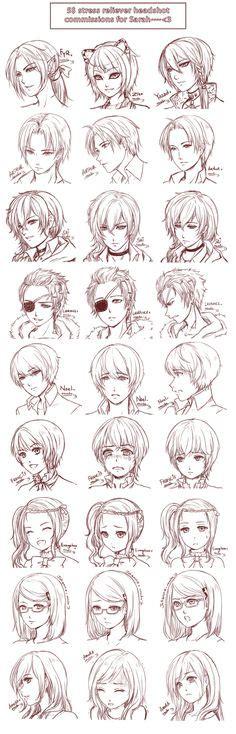 src batch8 by zenithomocha on deviantart deviantart inspiration hair expressions manga art drawing