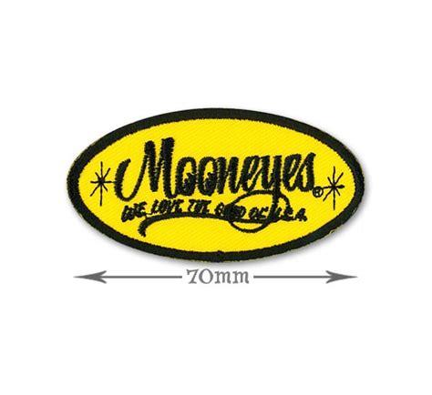 Emblem Mooneyes mooneyes oval logo patch small