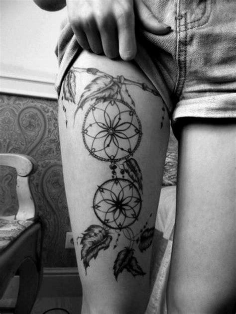 dream catcher tattoo calf 60 dreamcatcher tattoo designs 2017