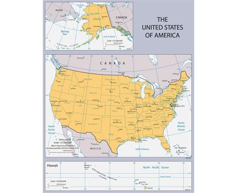 a big map of the united states maps of the usa detailed map of the usa the united