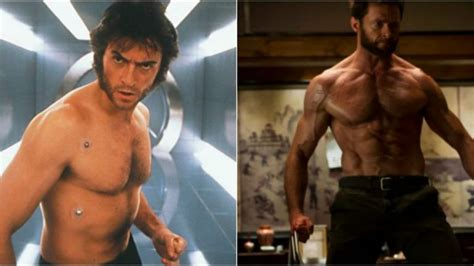 christopher reeve body transformation how hugh jackman got ripped to play wolverine in the x men