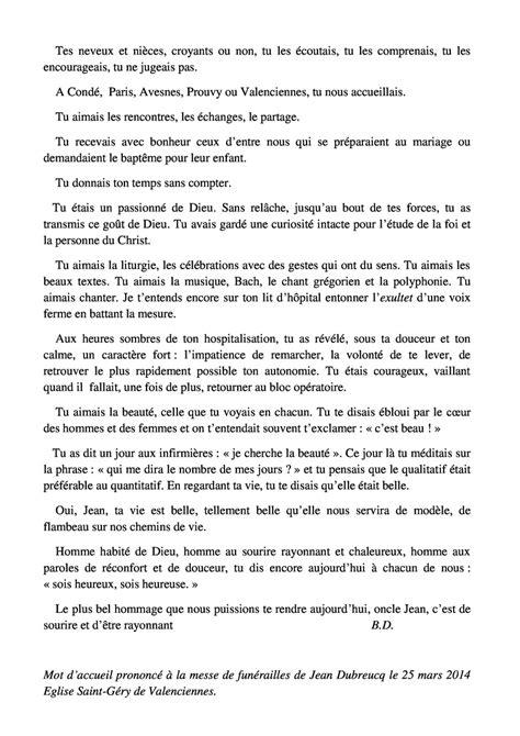 hommages au père Jean Dubreucq