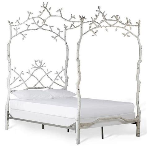 White Wrought Iron Bed Frames Iron Bed Frame White Home Design Ideas