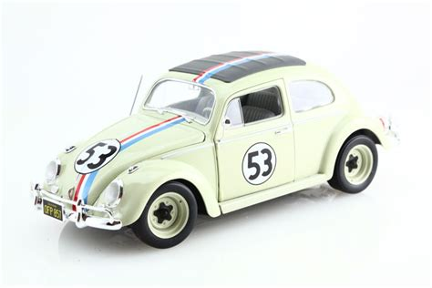 Hotwheels Vw Herbie hotwheels scale 1 18 vw beetle herbie n 176 53 bug catawiki