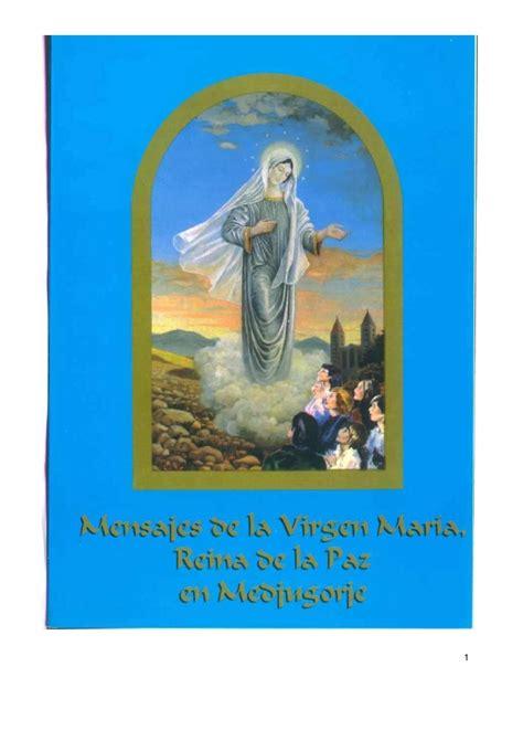 libro nuestra senora de la r libro virgen mar 237 a en medjugorje