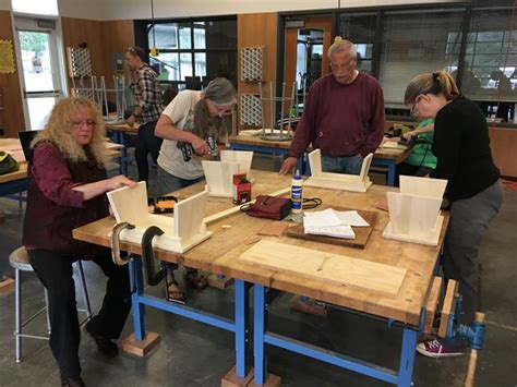 intro  woodworking class proves  popular